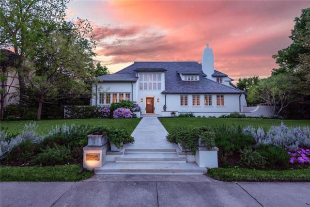 3509 Crescent Avenue, Highland Park, TX 75205 (MLS #14086066) :: The Hornburg Real Estate Group