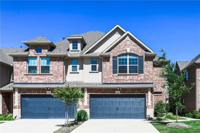 2316 Cortellia Street, Plano, TX 75074 (MLS #14086197) :: Team Hodnett