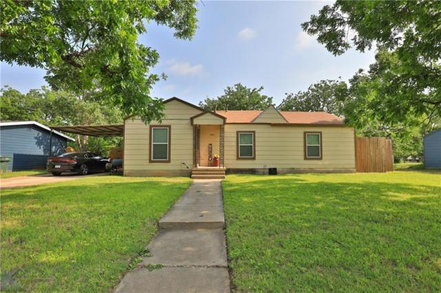 1410 S 32nd Street, Abilene, TX 79602 (MLS #14086409) :: The Heyl Group at Keller Williams