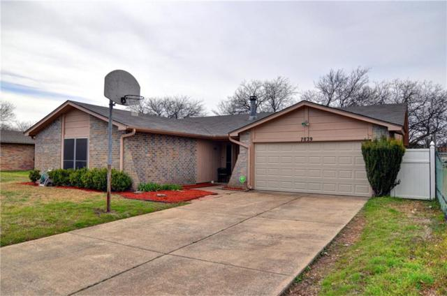 7029 Sunnybank Drive, Fort Worth, TX 76137 (MLS #14086619) :: The Hornburg Real Estate Group