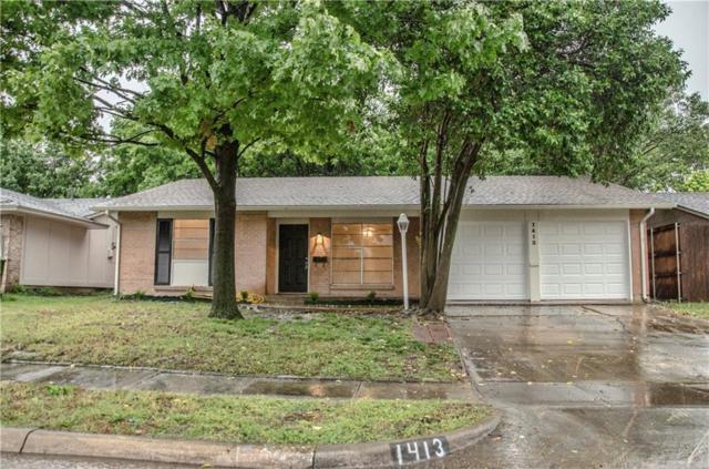 1413 Greentree Lane, Garland, TX 75042 (MLS #14086784) :: The Hornburg Real Estate Group