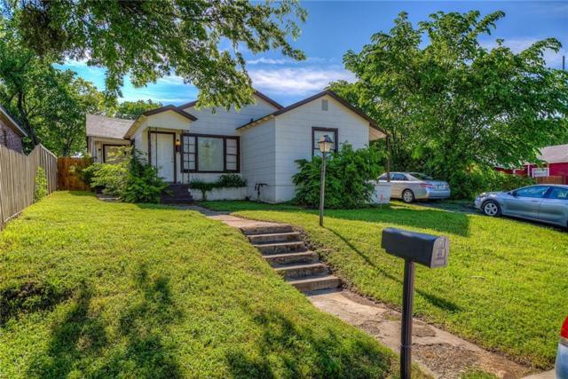 2305 Donalee Street, Fort Worth, TX 76105 (MLS #14087222) :: The Heyl Group at Keller Williams