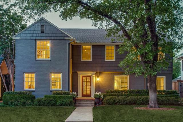 4564 Rheims Place, Highland Park, TX 75205 (MLS #14087597) :: The Hornburg Real Estate Group