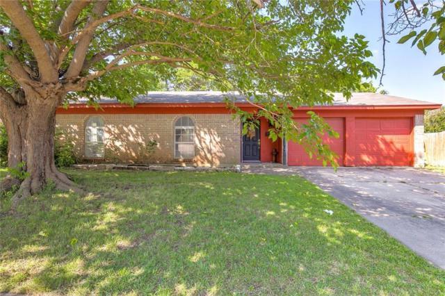 205 Quail Creek Drive, Crowley, TX 76036 (MLS #14087814) :: The Hornburg Real Estate Group