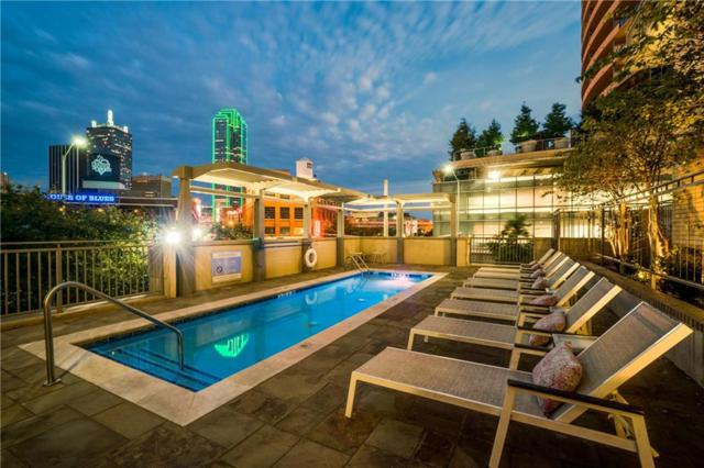 2323 N Houston Street #603, Dallas, TX 75219 (MLS #14088900) :: Van Poole Properties Group