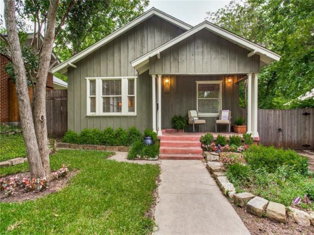 2121 Carleton Avenue, Fort Worth, TX 76107 (MLS #14088924) :: The Mitchell Group