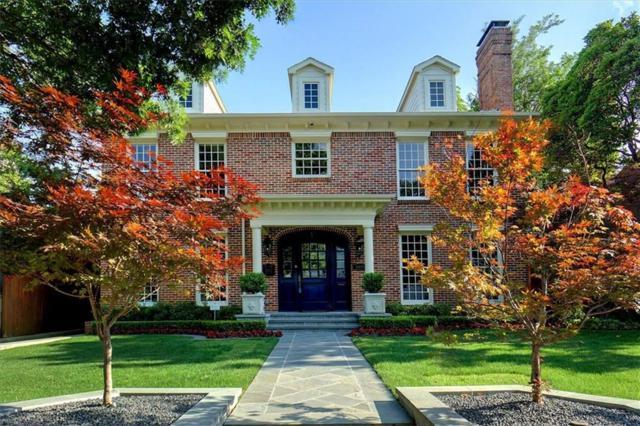 4529 N Versailles Avenue, Highland Park, TX 75205 (MLS #14089575) :: The Hornburg Real Estate Group