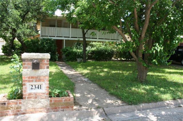 2341 Portland Avenue, Abilene, TX 79605 (MLS #14089906) :: The Heyl Group at Keller Williams