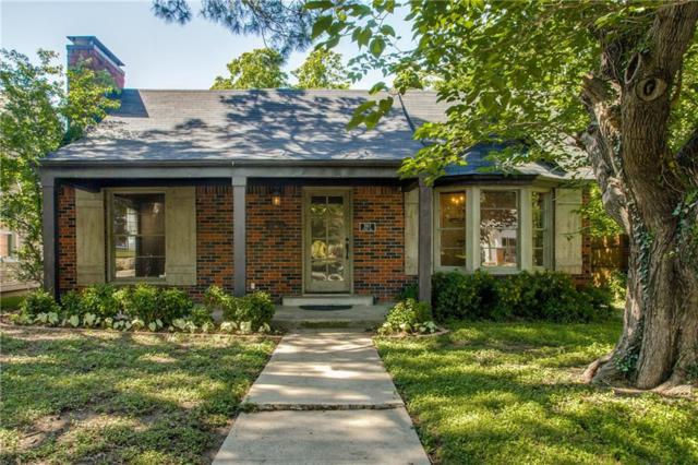 3917 Linden Avenue, Fort Worth, TX 76107 (MLS #14090315) :: The Rhodes Team