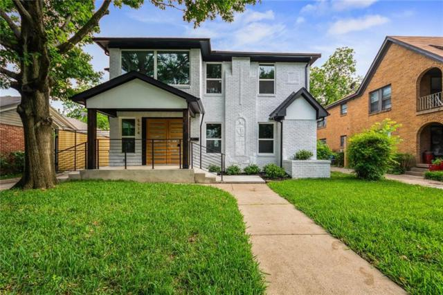 5914 Goodwin, Dallas, TX 75206 (MLS #14090607) :: Robbins Real Estate Group
