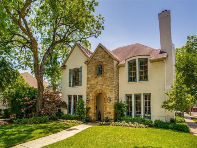 2853 Fondren Drive, University Park, TX 75205 (MLS #14091218) :: Camacho Homes