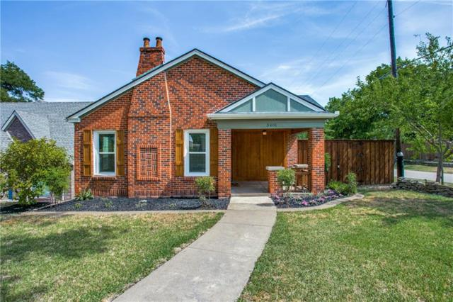 3401 Gibsondell Avenue, Dallas, TX 75211 (MLS #14091451) :: RE/MAX Town & Country