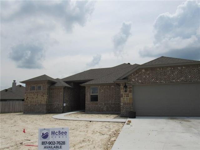 1805 Town Creek Circle, Weatherford, TX 76086 (MLS #14091786) :: The Heyl Group at Keller Williams