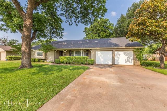 2234 Woodridge Drive, Abilene, TX 79605 (MLS #14092212) :: The Mitchell Group