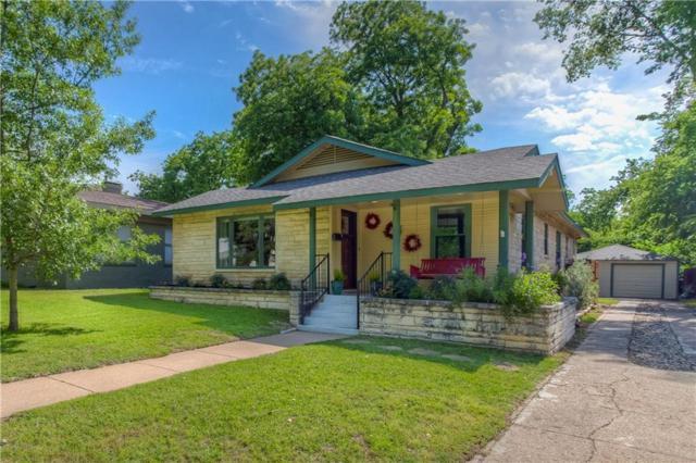 2225 Hillcrest Street, Fort Worth, TX 76107 (MLS #14092216) :: The Rhodes Team