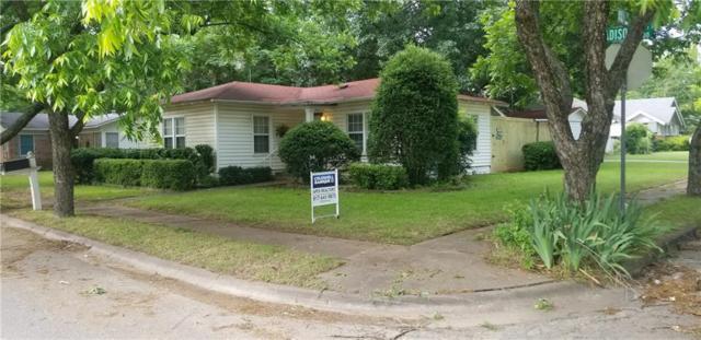 407 Madison Street, Cleburne, TX 76033 (MLS #14093045) :: The Heyl Group at Keller Williams