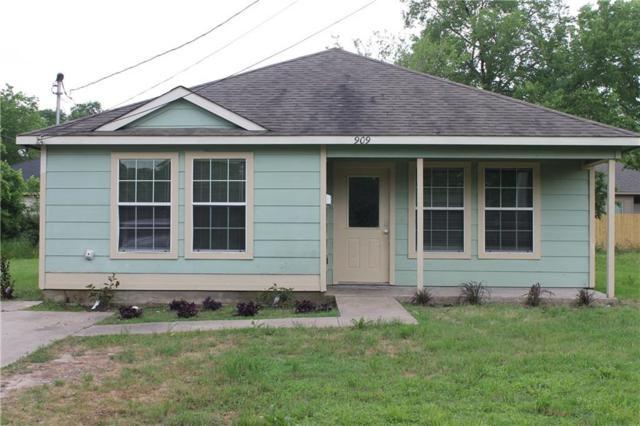 909 Hemphill Street, Greenville, TX 75401 (MLS #14093212) :: Potts Realty Group