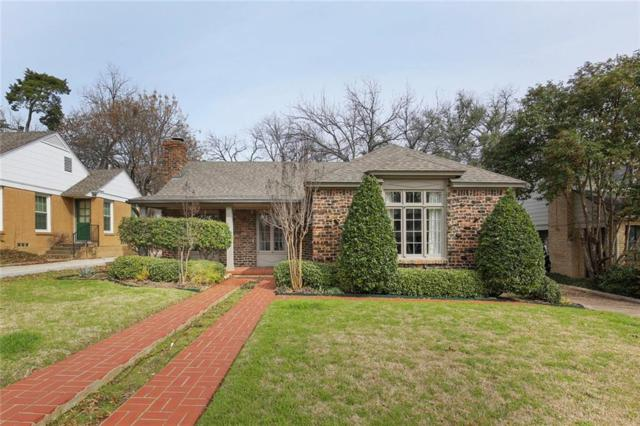 4224 Calmont Avenue, Fort Worth, TX 76107 (MLS #14093546) :: The Mitchell Group