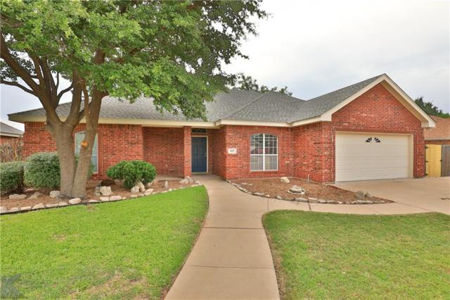 1617 Smith Drive, Abilene, TX 79601 (MLS #14093635) :: The Heyl Group at Keller Williams