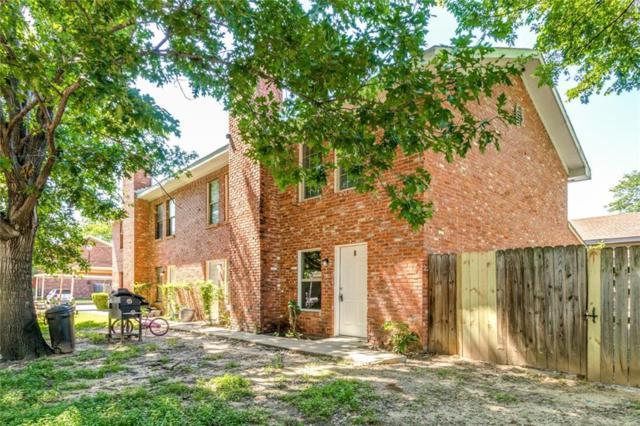 210 Rolston Road #8, Irving, TX 75060 (MLS #14093669) :: Team Hodnett