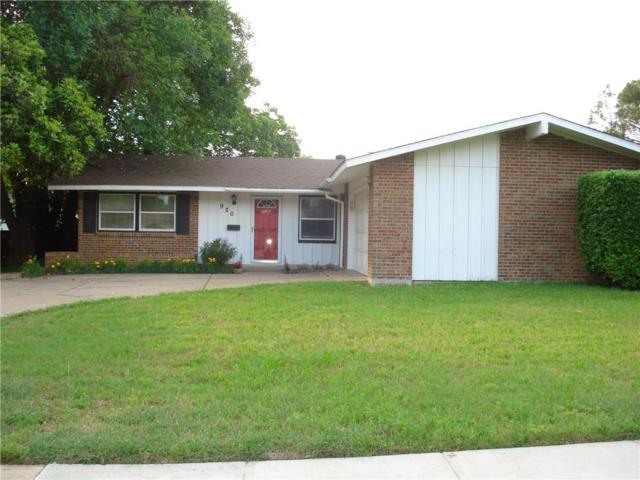 920 Waterview Circle, Richardson, TX 75080 (MLS #14093730) :: The Good Home Team
