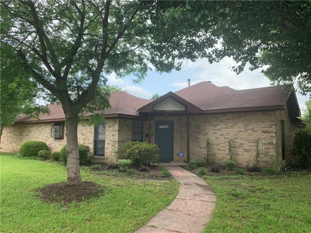 201 Pear Tree Place, Denton, TX 76207 (MLS #14093739) :: Real Estate By Design