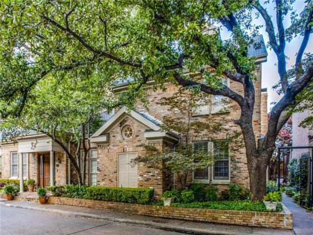 7939 Caruth Court, Dallas, TX 75225 (MLS #14094345) :: Baldree Home Team