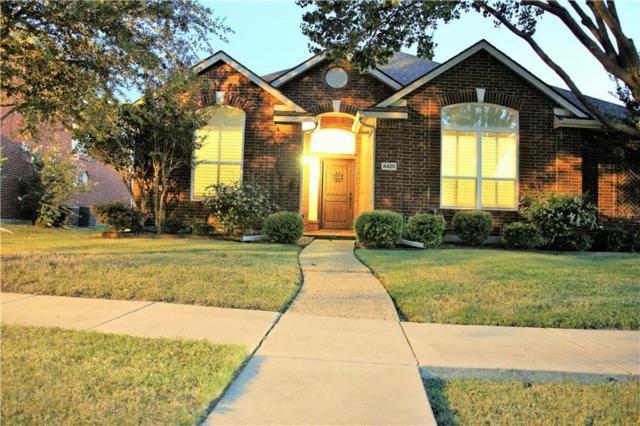 4420 Burnhill Drive, Plano, TX 75024 (MLS #14094385) :: Baldree Home Team