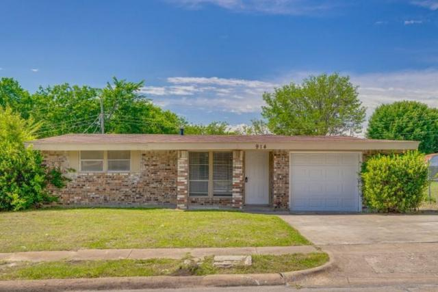914 Piedmont Drive, Garland, TX 75040 (MLS #14094591) :: McKissack Realty Group