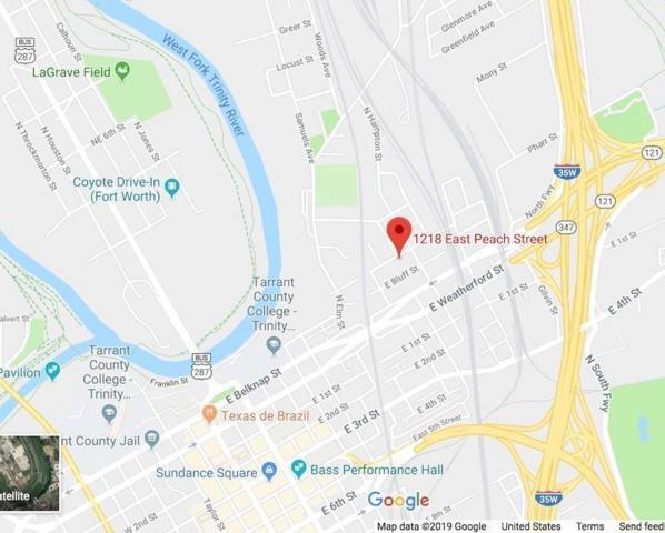 1403 E Peach Street, Fort Worth, TX 76102 (MLS #14094709) :: Team Hodnett