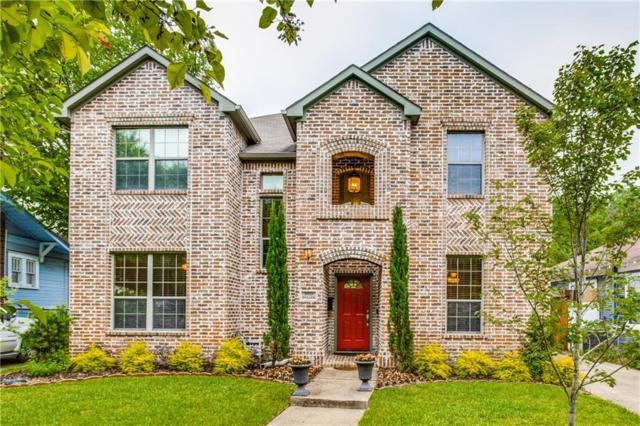 2020 Cullen Drive, Dallas, TX 75206 (MLS #14094788) :: The Hornburg Real Estate Group