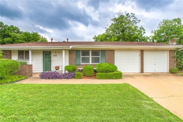 205 Mildred Lane, Benbrook, TX 76126 (MLS #14094897) :: Potts Realty Group
