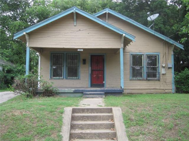 3115 Tuskegee Street, Dallas, TX 75215 (MLS #14095279) :: The Good Home Team