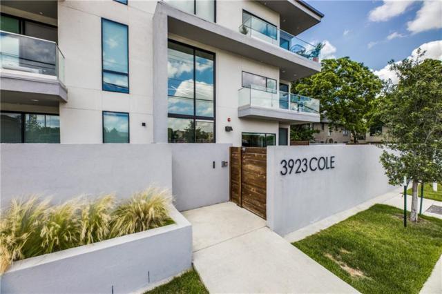 3923 Cole Avenue #101, Dallas, TX 75204 (MLS #14095375) :: NewHomePrograms.com LLC