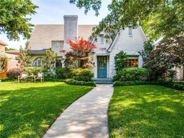 4505 Fairfax Avenue, Highland Park, TX 75205 (MLS #14095481) :: The Hornburg Real Estate Group