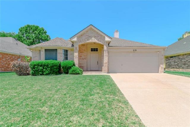219 Springpark Drive, Arlington, TX 76014 (MLS #14095506) :: The Good Home Team