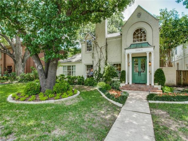 3845 Greenbrier Drive, University Park, TX 75225 (MLS #14095518) :: The Hornburg Real Estate Group