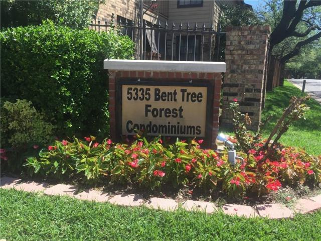 5335 Bent Tree Forest Drive 251M, Dallas, TX 75248 (MLS #14095826) :: Van Poole Properties Group