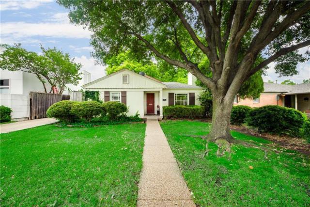 3706 S Versailles Avenue, Dallas, TX 75209 (MLS #14095972) :: Vibrant Real Estate