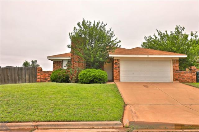 18 Greenthread Street, Abilene, TX 79606 (MLS #14096158) :: The Paula Jones Team | RE/MAX of Abilene