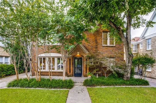 4036 Prescott Avenue, Dallas, TX 75219 (MLS #14096165) :: Lynn Wilson with Keller Williams DFW/Southlake