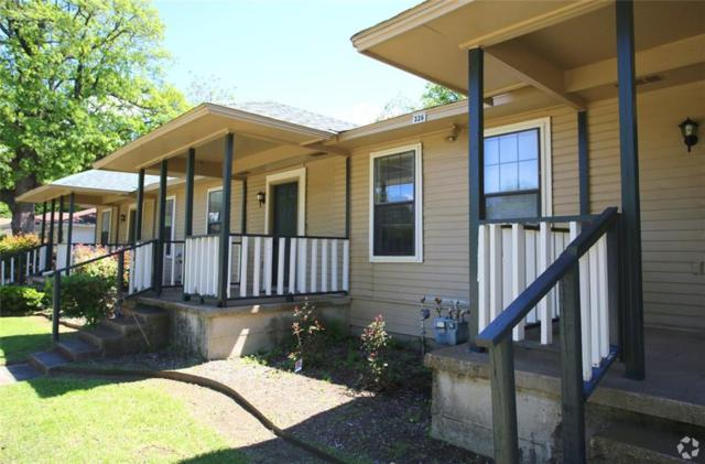 326 Mill Street 1-6, Denton, TX 76205 (MLS #14096304) :: The Real Estate Station