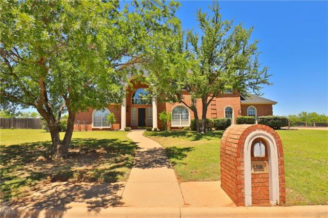 1318 Saddle Lakes Drive, Abilene, TX 79602 (MLS #14096332) :: All Cities Realty