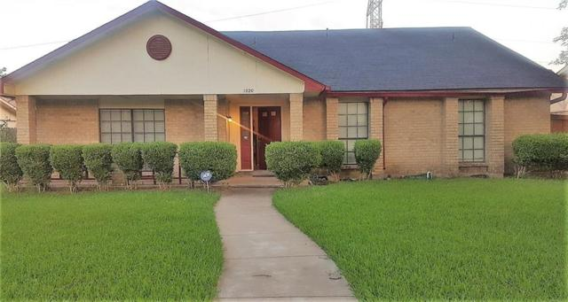 1020 Amur Street, Mesquite, TX 75150 (MLS #14096458) :: All Cities Realty