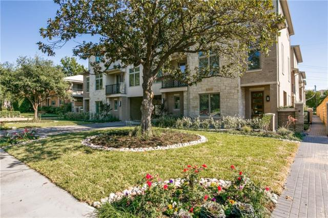 4514 Abbott Avenue #11, Highland Park, TX 75205 (MLS #14096799) :: The Hornburg Real Estate Group