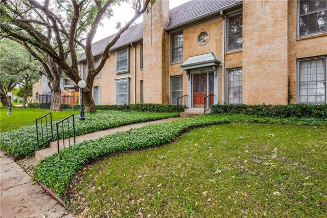 10100 Regal Park Lane #122, Dallas, TX 75230 (MLS #14096853) :: RE/MAX Landmark