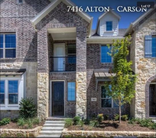 7416 Alton Drive, Mckinney, TX 75070 (MLS #14096932) :: The Hornburg Real Estate Group