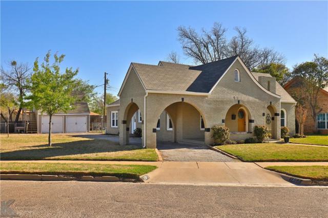 1557 Belmont Boulevard, Abilene, TX 79602 (MLS #14096983) :: The Heyl Group at Keller Williams