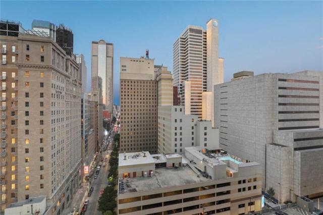1200 Main Street #1409, Dallas, TX 75202 (MLS #14097030) :: Team Hodnett