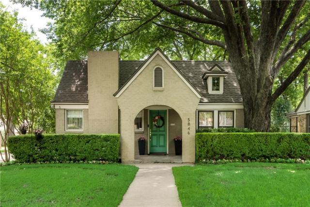 5846 Monticello Avenue, Dallas, TX 75206 (MLS #14097217) :: Magnolia Realty